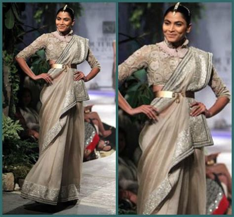 Style Guide The Belt Drape by Saree Draping Styles Make A Trend
