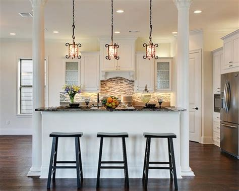 kitchen columns support columns houzz