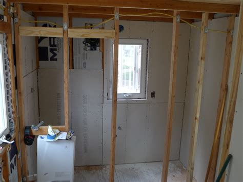 sheetrock for bathrooms tiny house finish drywall photos bathroom and shower 14