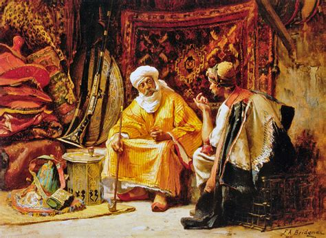 the rug merchant 19th century american paintings frederick arthur bridgman ctd