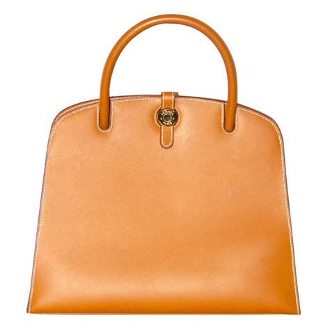 Hermes Evora Naturals Top herm 232 s dalvy bag vache leather for sale at 1stdibs