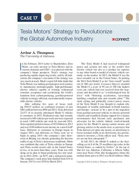 tesla marketing plan slideshare tesla motors strategy to revolutionize the global