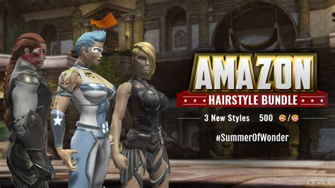 dcuo haircuts look like you belong on themyscira new hairstyles dc