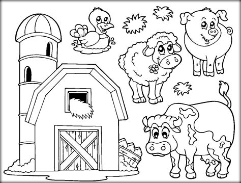 farm animals coloring pages preschool trend coloring farm animals 13 3844