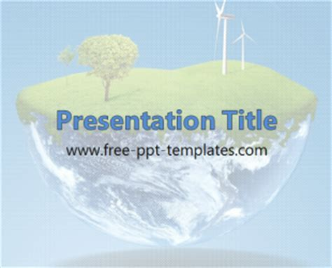 free environmental powerpoint templates environment ppt template free powerpoint templates