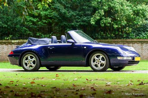 Porsche Cabrio Oldtimer by Porsche 911 993 Carrera Cabrio 1994 Classicargarage De