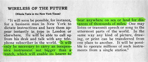 Nikola Tesla Cell Phone Interesting Facts About Nikola Tesla Just Facts