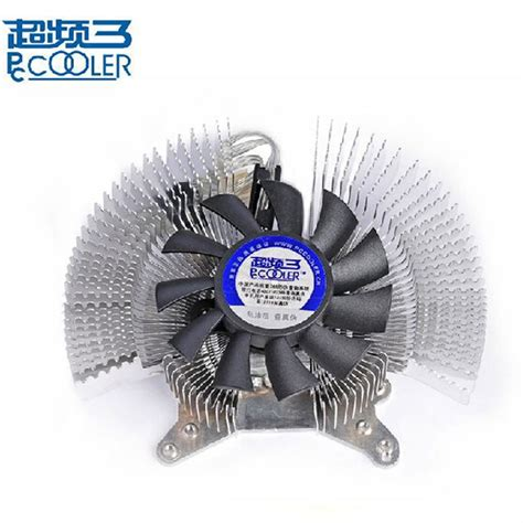 3 fan graphics card aluminum 6cm fan multiporous graphics card heatsink vga