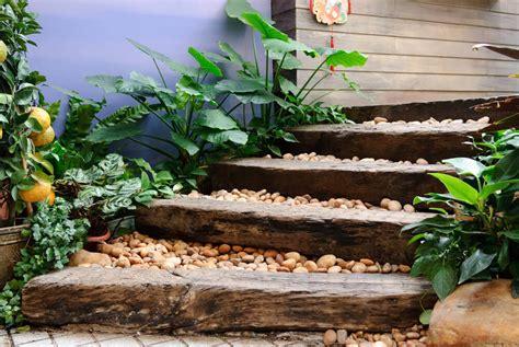 Garden Steps Ideas Outdoor Garden Landscaping Step Ideas Design Architecture And Worldwide
