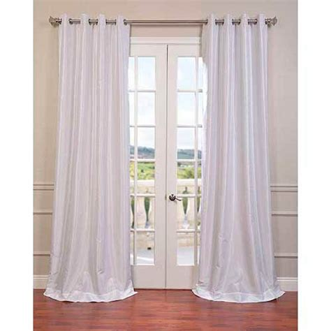 108 blackout drapes white 108 x 50 inch vintage textured grommet blackout