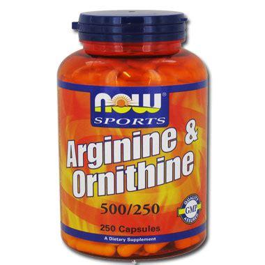 ornitina alimenti arginina ornitina 100 cps now food