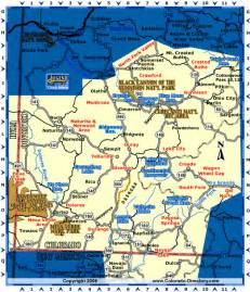 map of southwest colorado southwest colorado map co vacation directory