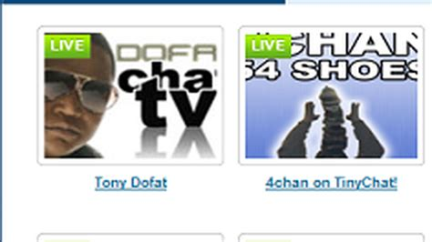 Tinychat Live Room by Tinychat Live Broadcasters With Tinychat Tv
