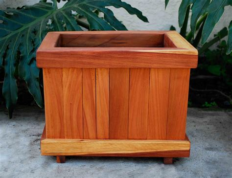 Redwood Planter Box Plans by The Window Box Planters Built To Last Decades Forever