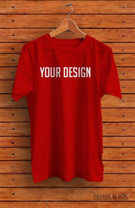 Simple T Shirt Kaos Dual Color Pink Hijau Tentara Import Murah 16 free t shirt mock up templates september 2015 edition