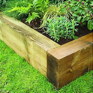 Wickes Garden Planters by Garden Sleepers Raised Bed Kits Fencing Gardens Wickes