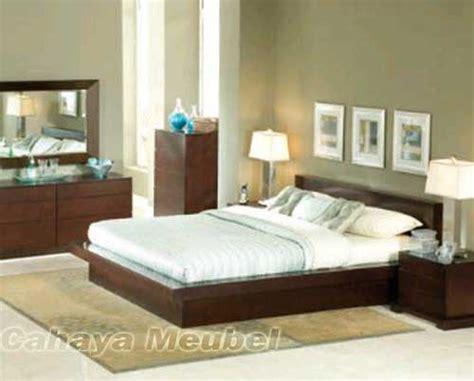 kamar set modern kayu jati mebel jepara set kamar tidur