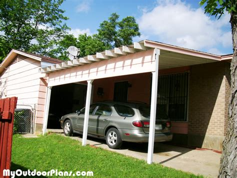 carport plans attached to house diy carport attached to house myoutdoorplans free