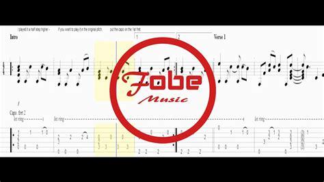 guitar tutorial video love yourself justin bieber love yourself guitar acoustic tab youtube