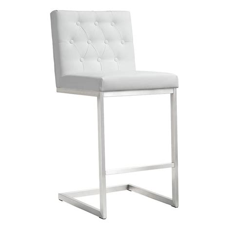 white modern stools modern stools hungary white counter stool eurway