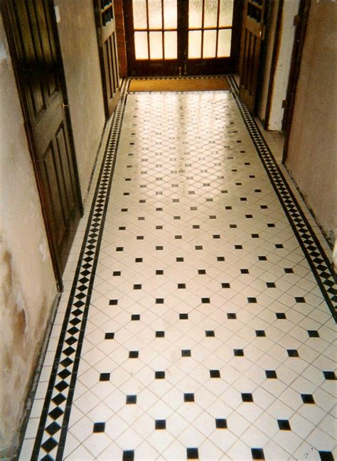 Victorian Tiling, Victorian Tiles, floors, paths expertly