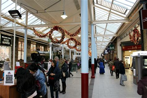 christmas shopping at swindon designer outlet lily doughball