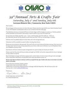 Payment Request Letter To Vendor Cavac Craft Fair Vendor Confirmation Page 2017