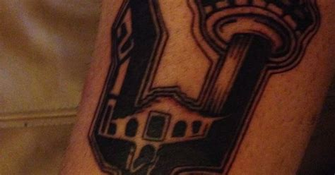 tattoo nation san antonio website san antonio spurs tattoo with the area code tower the