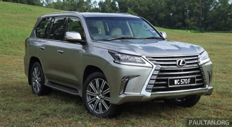 Lexus 570 Price by Lexus Lx570 Price Drops By Rm74k In Malaysia To Rm850k