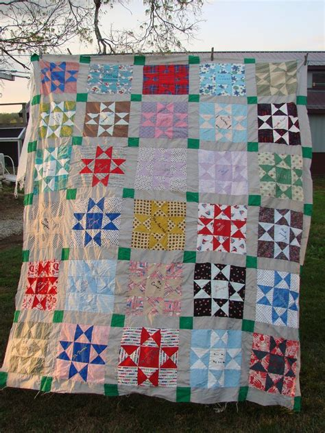 vintage pattern friendship quilt top embroidery names