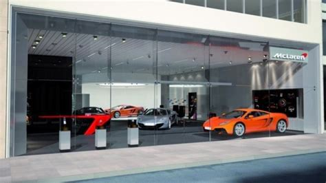 mclaren dealership mclaren announces six u s dealers for the mp4 12c