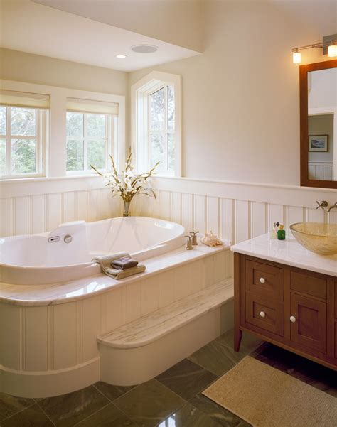 Handicapped Bathroom Designs 10 real life examples of beautiful beadboard paneling