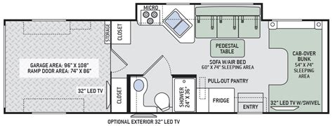 c trailer floor plans class c toy hauler floor plans wow blog