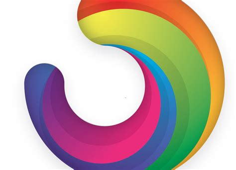 colorful circle logo how to create a colorful logo style icon in illustrator