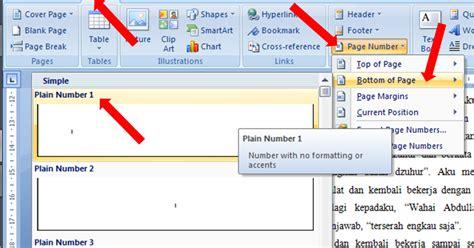 membuat no halaman di word 2013 fardian imam m membuat halaman beda pada microsoft word