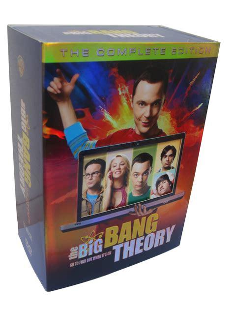 Big Set Of 7 the big theory seasons 1 7 dvd box set