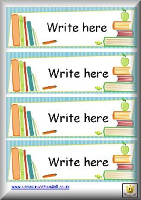 label templates for school books top 25 ideas about labels on pinterest kindergarten