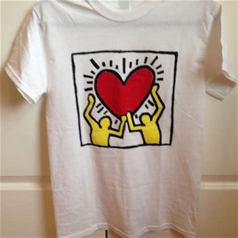 Tshirt Keith Haring best keith haring t shirt products on wanelo