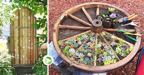 idee per decorare il giardino riciclare per decorare il giardino ecco 20 idee da cui