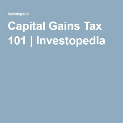 17 best ideas about capital gains tax on