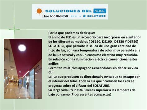consumo lade a led solatube anillo de leds www luznatural es