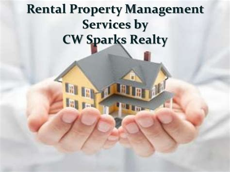 Apartment Property Management Rental Property Management Services By Cw Sparks Realty