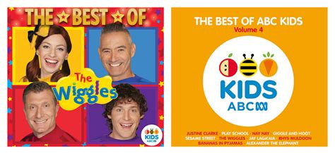 best cds win the best of the wiggles and the best of abc vol 4