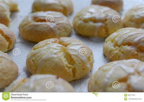 Mr Pat Glaz Cookies lemon glazed cookies stock photo image 58277944