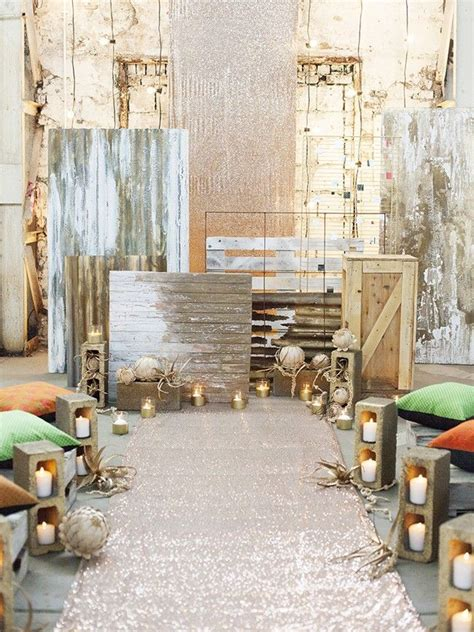 Industrial Wedding Decor by 25 Best Ideas About Industrial Chic Weddings On