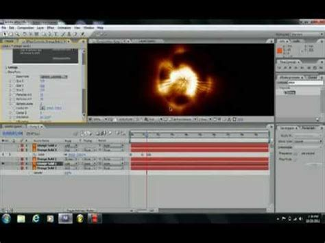 tutorial after effect bomb space explosion after effects tutorial youtube