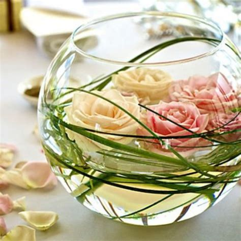 Coffee Table Flower Arrangements by 3 Id 233 Es De Centres De Tables Pour Un Mariage Roselia
