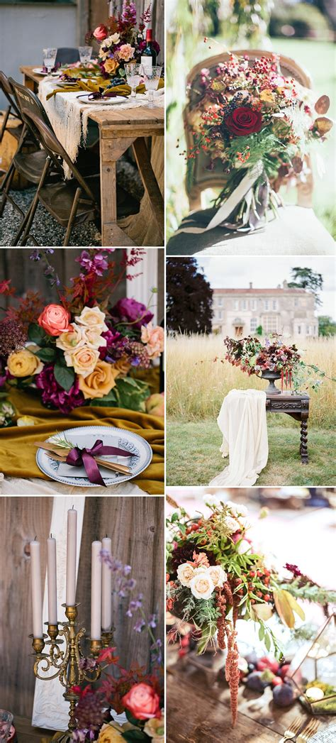 Autumn Wedding Styling With The Love **** List   Rock My