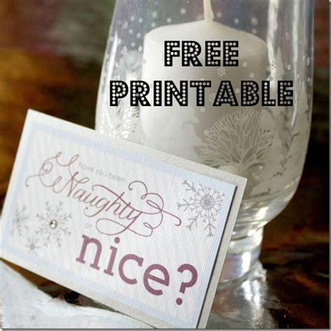 printable naughty nice gift tags free naughty or nice holiday gift tag printable life on