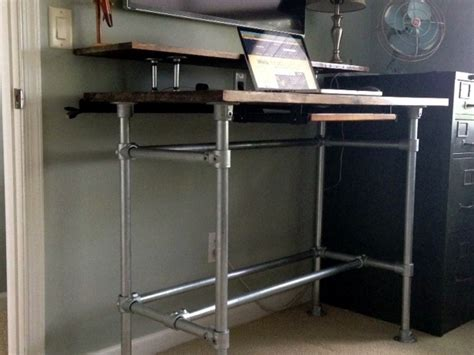Pipe Standing Desk by 10 Diy Standing Desks Built With Pipe And Kee Kl